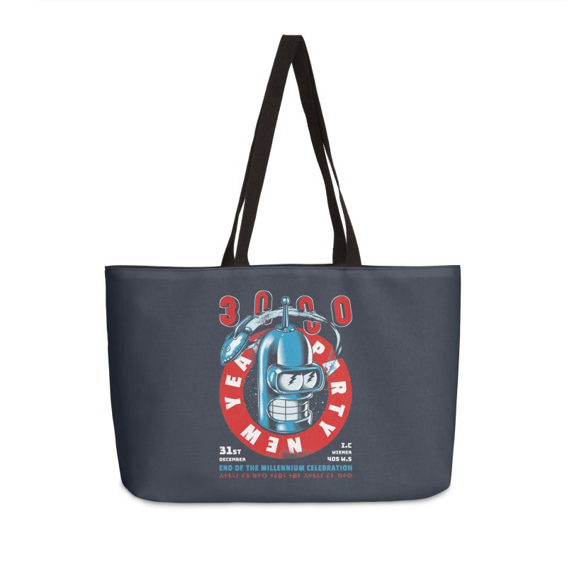 New Years Party Accessories Bag by Santiago Sarquis's Artist Shop
