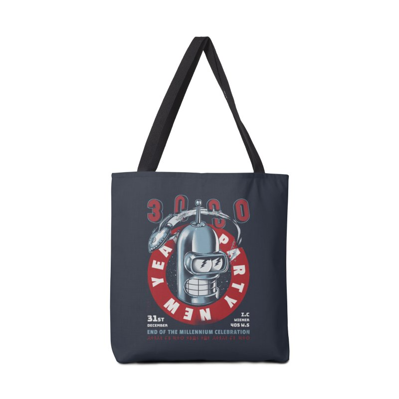 New Years Party Accessories Tote Bag Bag by Santiago Sarquis's Artist Shop