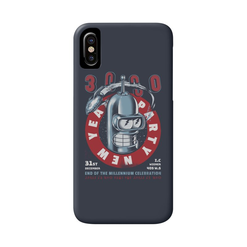 New Years Party Accessories Phone Case by Santiago Sarquis's Artist Shop