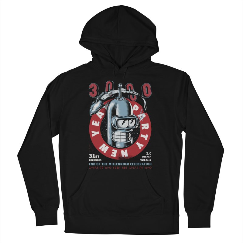 New Years Party Men's Pullover Hoody by Santiago Sarquis's Artist Shop