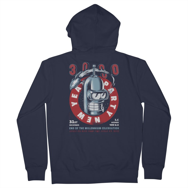 New Years Party Women's Zip-Up Hoody by Santiago Sarquis's Artist Shop