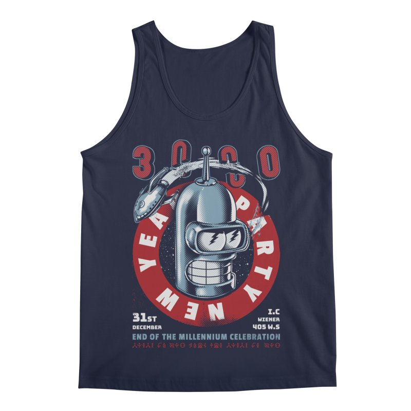 New Years Party Men's Regular Tank by Santiago Sarquis's Artist Shop