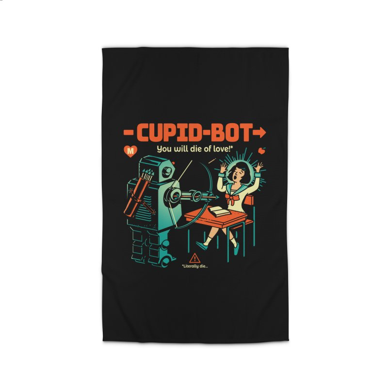 Cupid-Bot Home Rug by Santiago Sarquis's Artist Shop