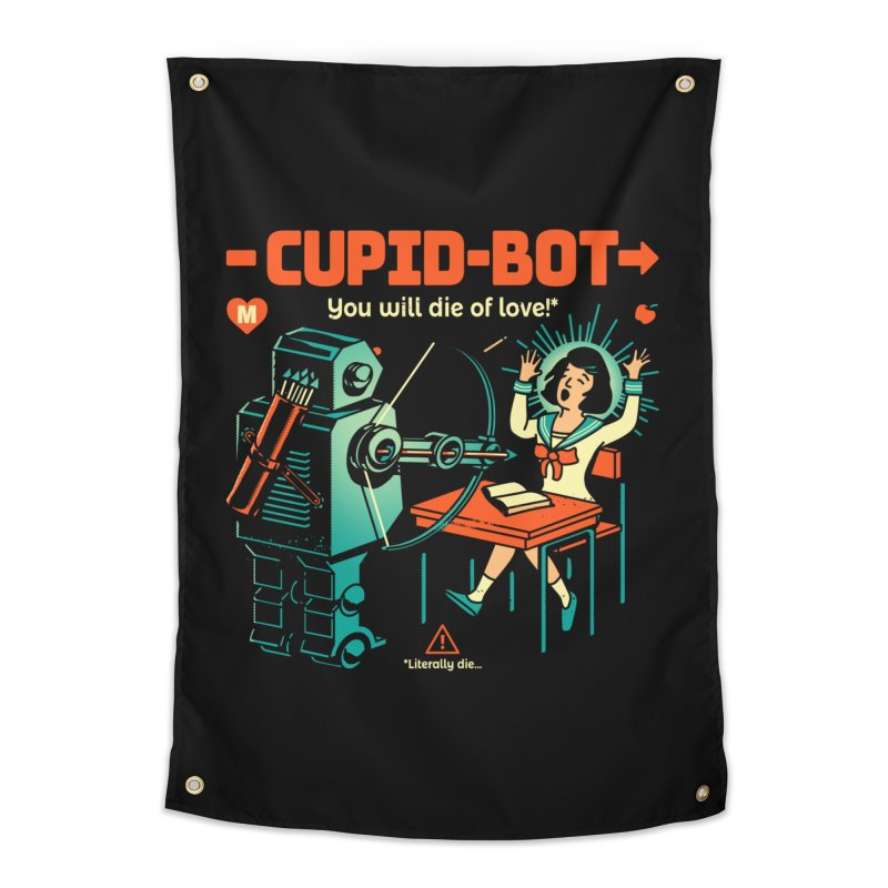 Cupid-Bot Home Tapestry by Santiago Sarquis's Artist Shop