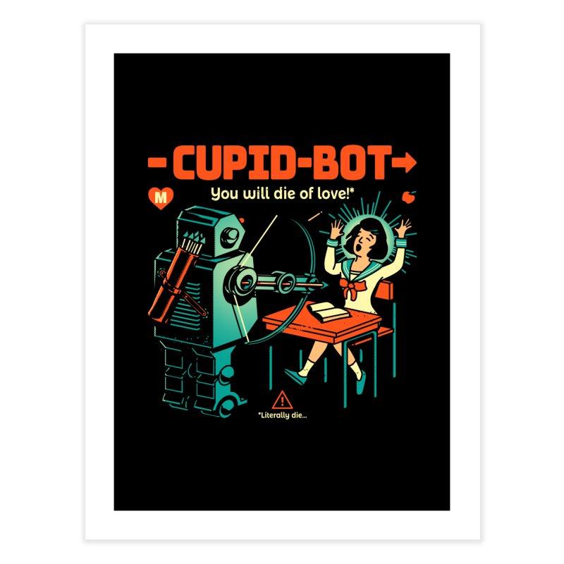 Cupid-Bot Home Fine Art Print by Santiago Sarquis's Artist Shop