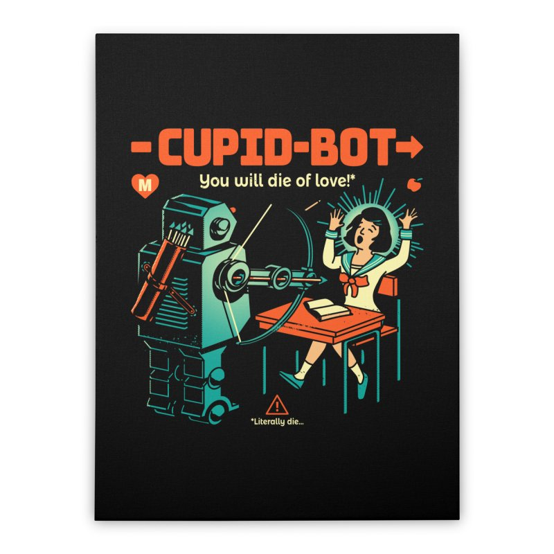 Cupid-Bot Home Stretched Canvas by Santiago Sarquis's Artist Shop