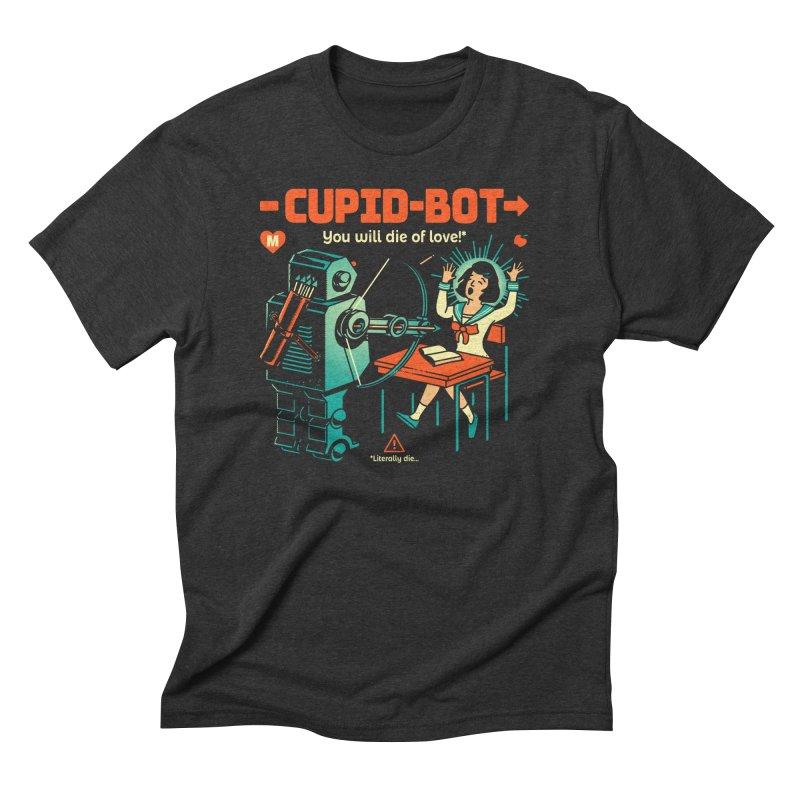 Cupid-Bot Men's T-Shirt by Santiago Sarquis's Artist Shop