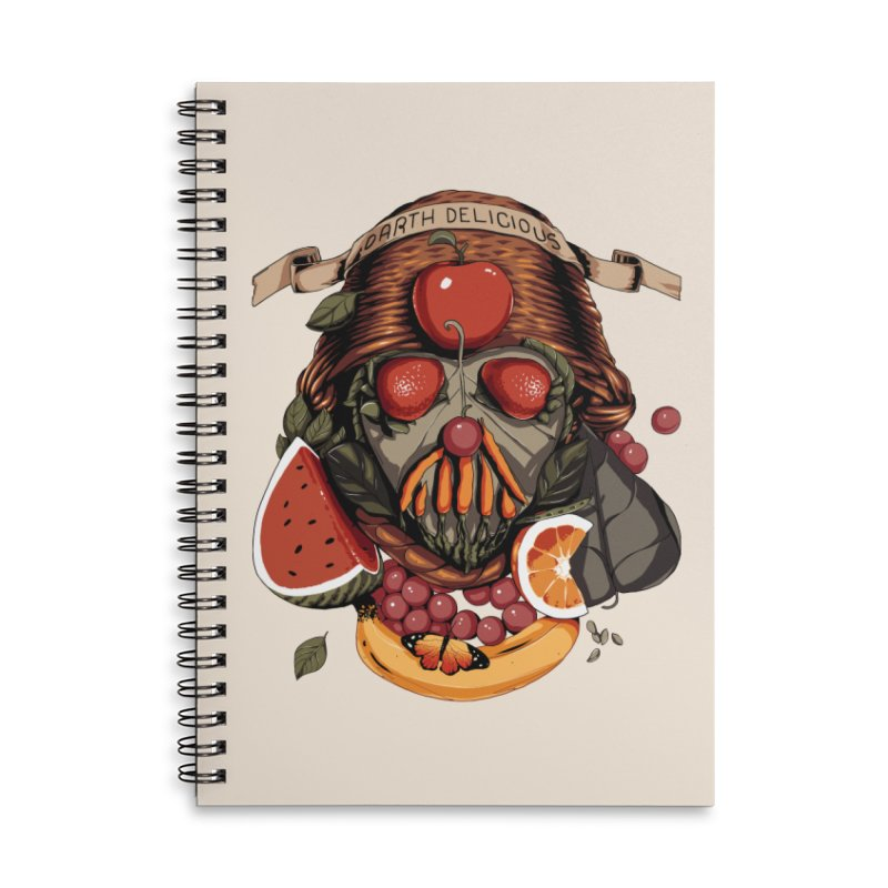 Darth Delicious Accessories Notebook by Santiago Sarquis's Artist Shop