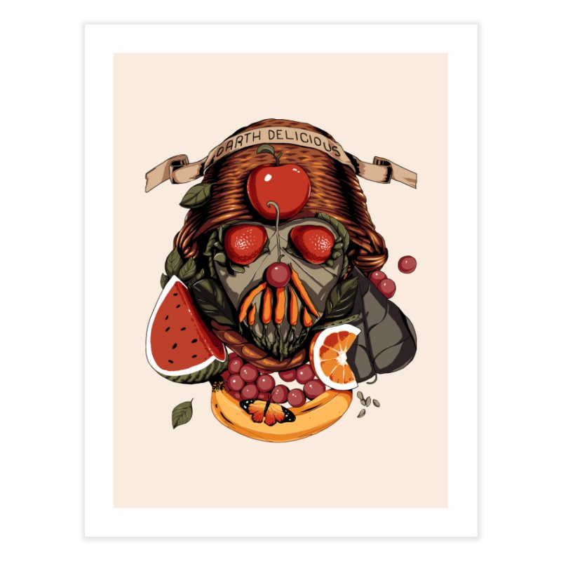 Darth Delicious Home Fine Art Print by metalsan's Artist Shop