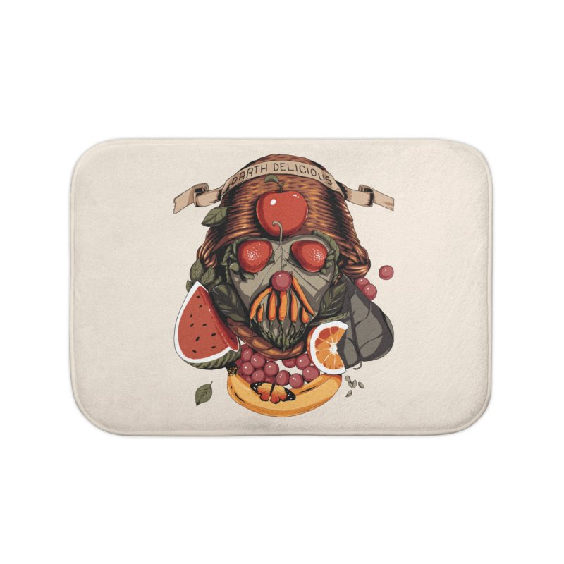 Darth Delicious Home Bath Mat by Santiago Sarquis's Artist Shop