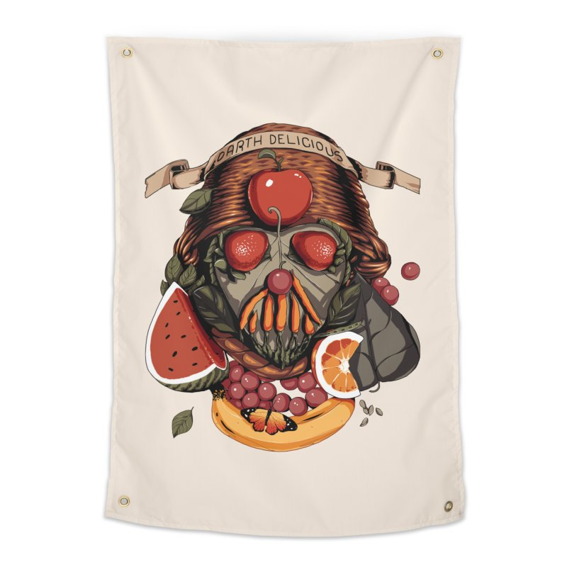Darth Delicious Home Tapestry by Santiago Sarquis's Artist Shop