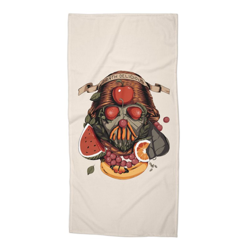 Darth Delicious Accessories Beach Towel by Santiago Sarquis's Artist Shop