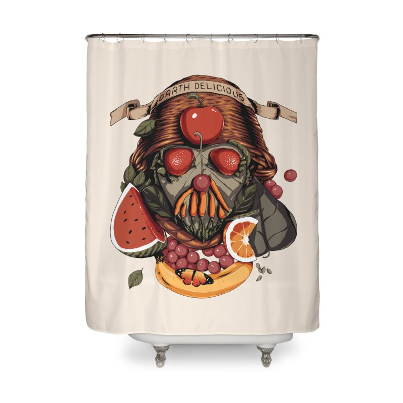 Darth Delicious Home Shower Curtain by metalsan's Artist Shop