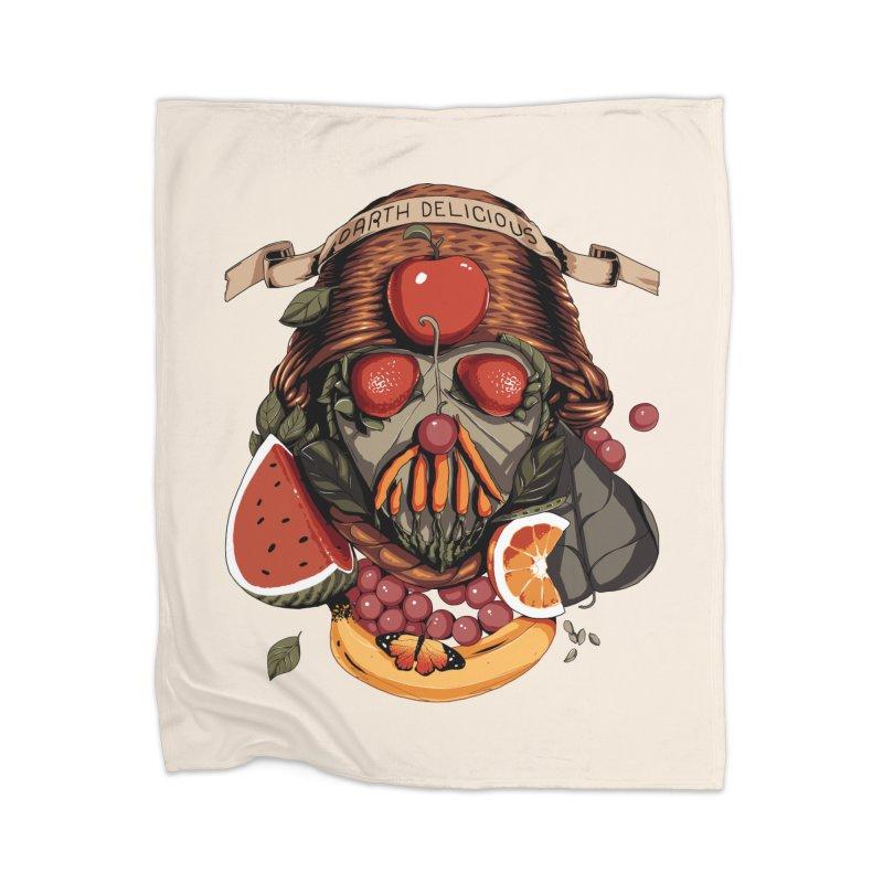 Darth Delicious Home Blanket by Santiago Sarquis's Artist Shop
