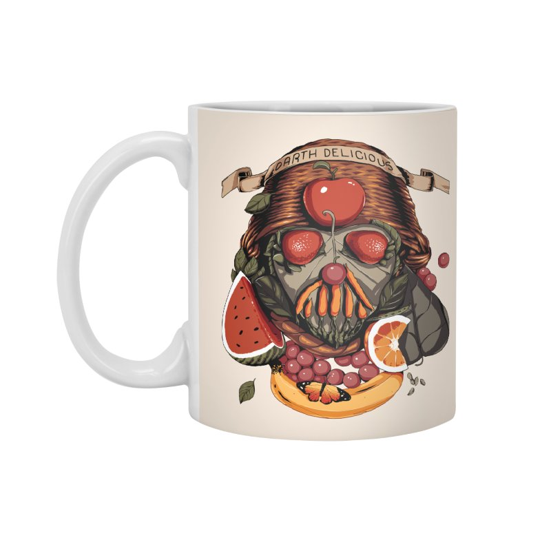 Darth Delicious Accessories Mug by Santiago Sarquis's Artist Shop