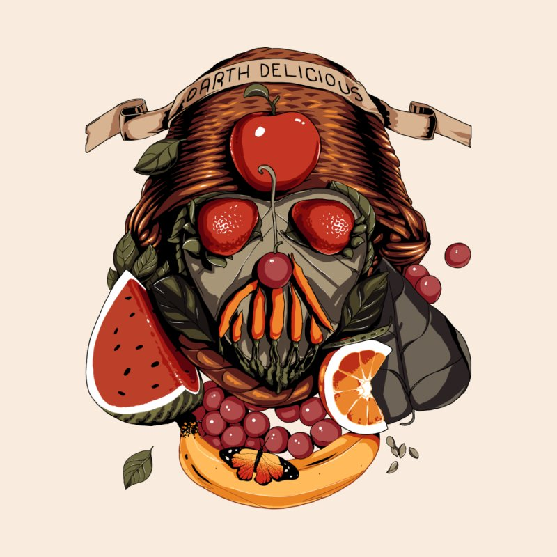Darth Delicious Men's T-Shirt by Santiago Sarquis's Artist Shop