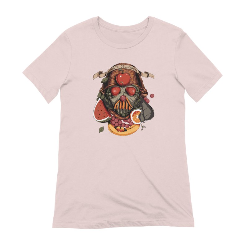 Darth Delicious Women's Extra Soft T-Shirt by Santiago Sarquis's Artist Shop