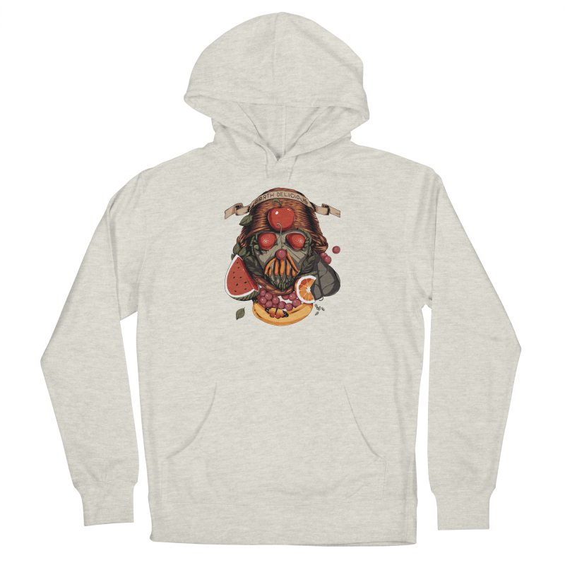 Darth Delicious Men's French Terry Pullover Hoody by Santiago Sarquis's Artist Shop
