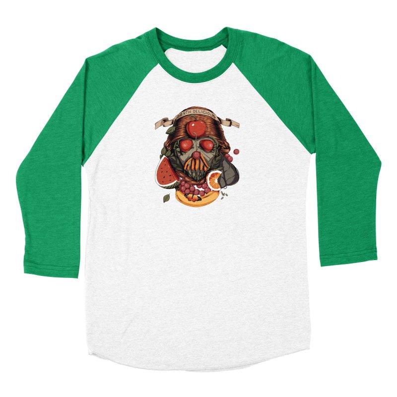 Darth Delicious Men's Baseball Triblend Longsleeve T-Shirt by Santiago Sarquis's Artist Shop