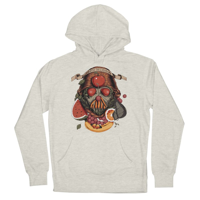 Darth Delicious Women's French Terry Pullover Hoody by Santiago Sarquis's Artist Shop