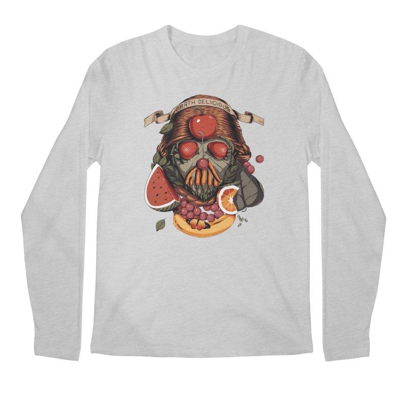 Darth Delicious Men's Regular Longsleeve T-Shirt by Santiago Sarquis's Artist Shop