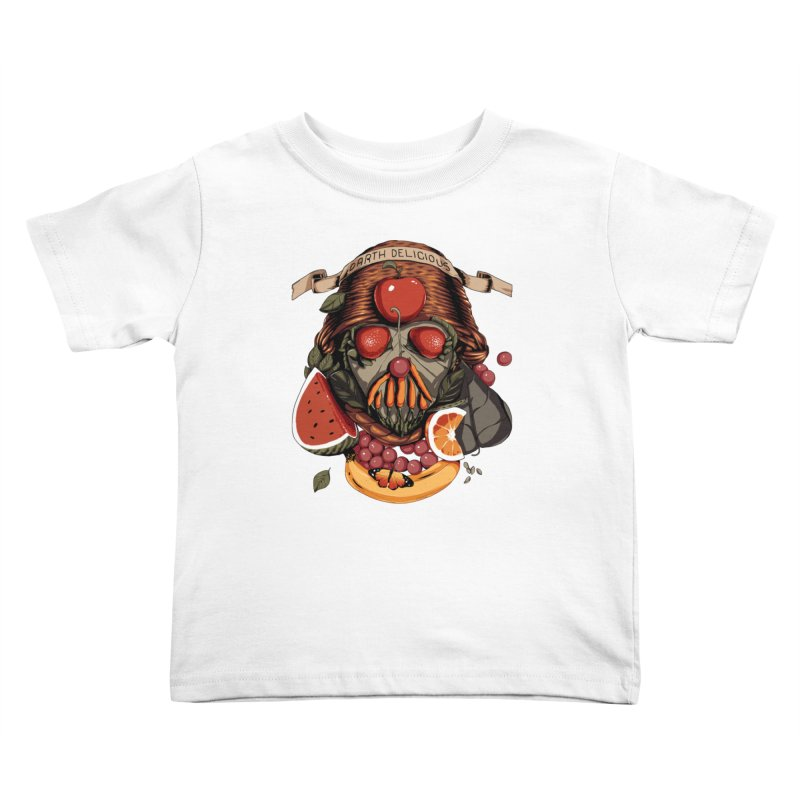 Darth Delicious Kids Toddler T-Shirt by metalsan's Artist Shop