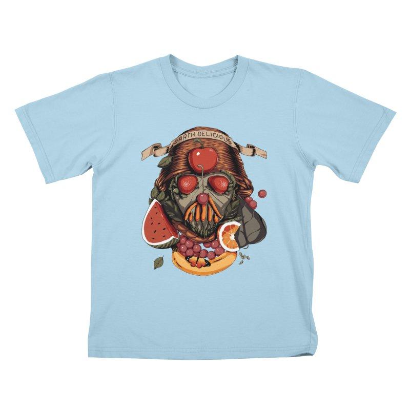 Darth Delicious Kids T-Shirt by Santiago Sarquis's Artist Shop