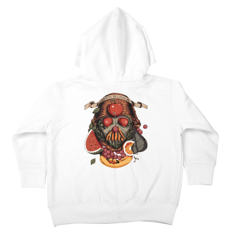 Darth Delicious Kids Toddler Zip-Up Hoody by metalsan's Artist Shop