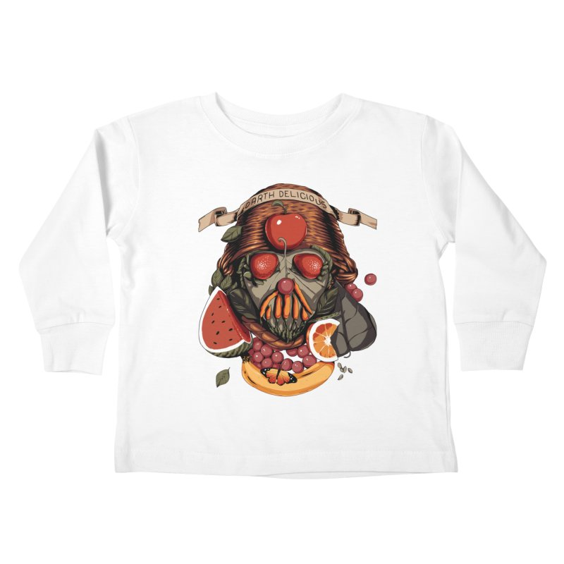 Darth Delicious Kids Toddler Longsleeve T-Shirt by Santiago Sarquis's Artist Shop