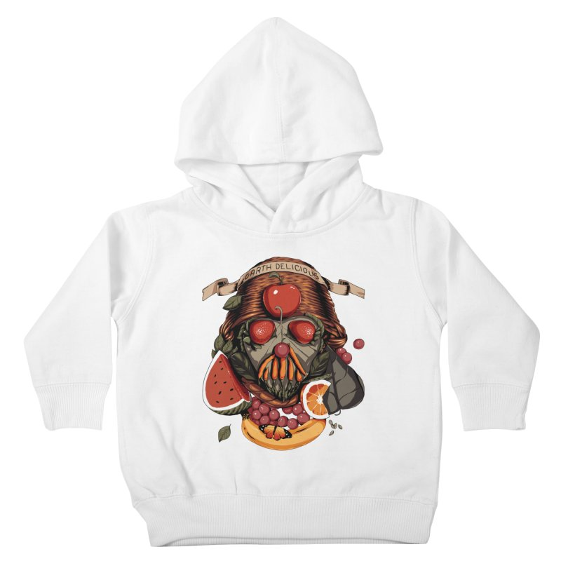 Darth Delicious Kids Toddler Pullover Hoody by Santiago Sarquis's Artist Shop