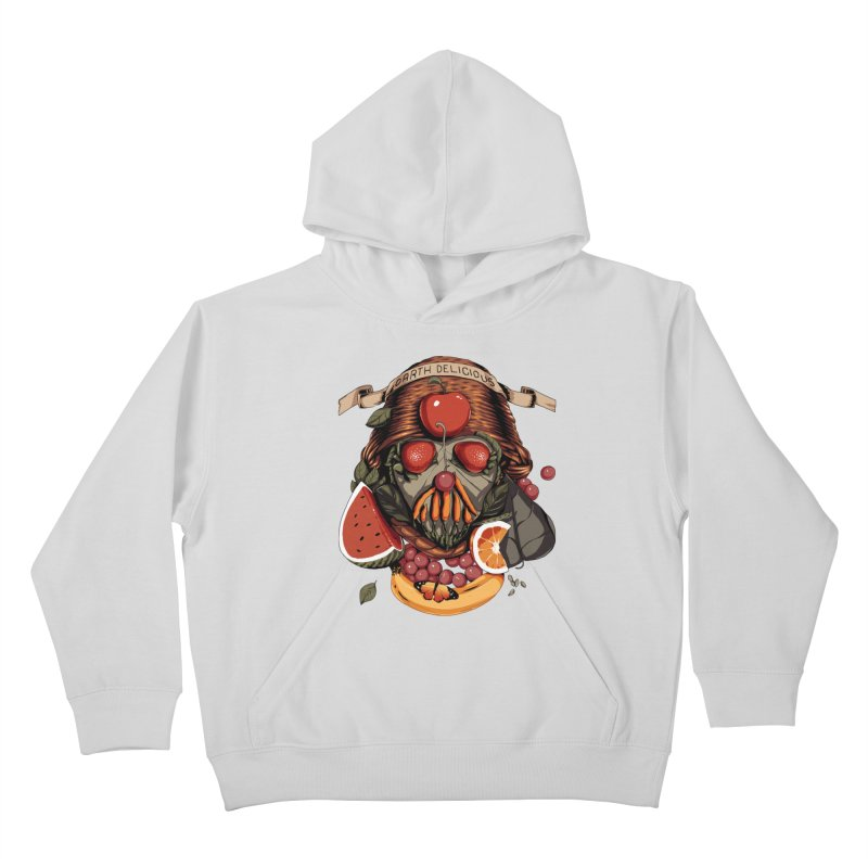 Darth Delicious Kids Pullover Hoody by Santiago Sarquis's Artist Shop