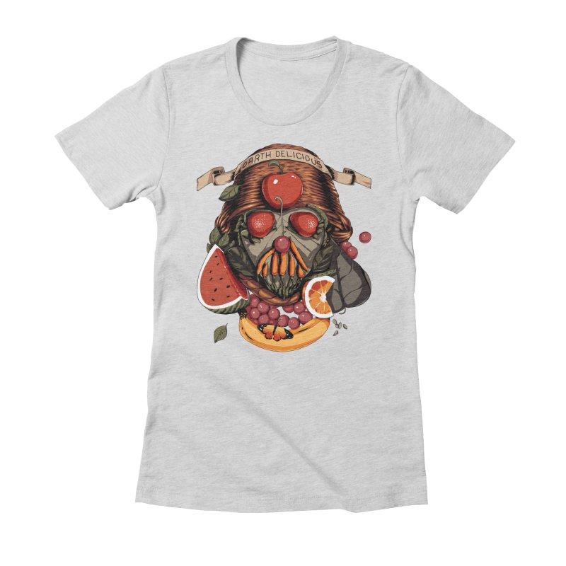 Darth Delicious Women's T-Shirt by Santiago Sarquis's Artist Shop
