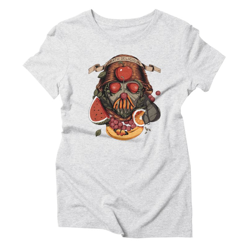 Darth Delicious Women's Triblend T-Shirt by Santiago Sarquis's Artist Shop