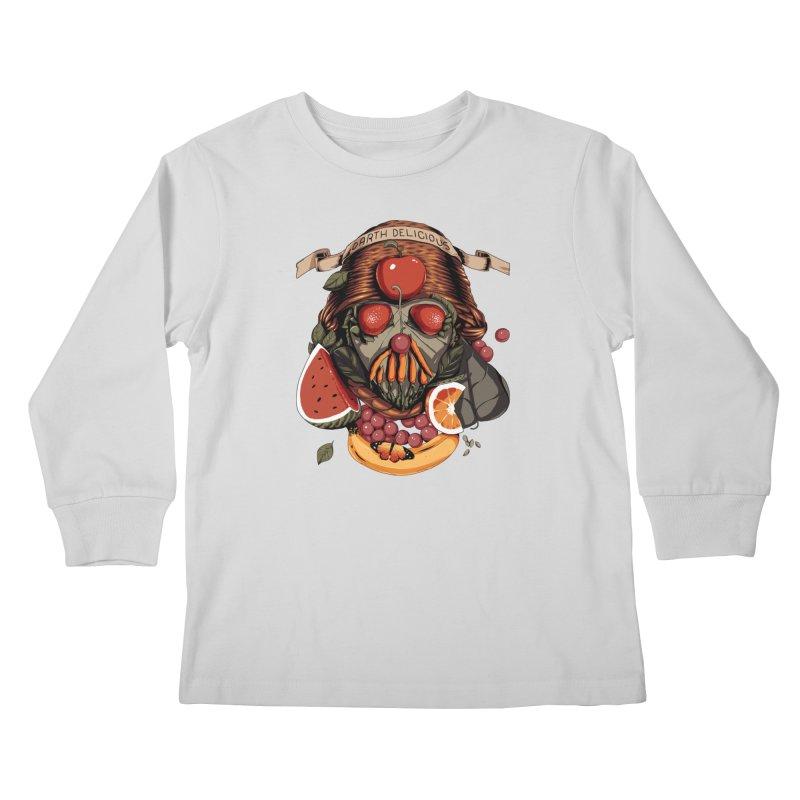 Darth Delicious Kids Longsleeve T-Shirt by Santiago Sarquis's Artist Shop