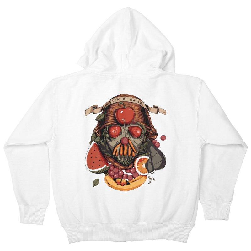 Darth Delicious Kids Zip-Up Hoody by metalsan's Artist Shop