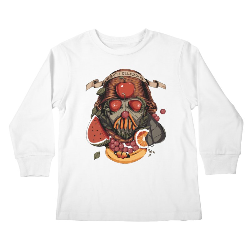 Darth Delicious Kids Longsleeve T-Shirt by Santiago Sarquis's Artist Shop