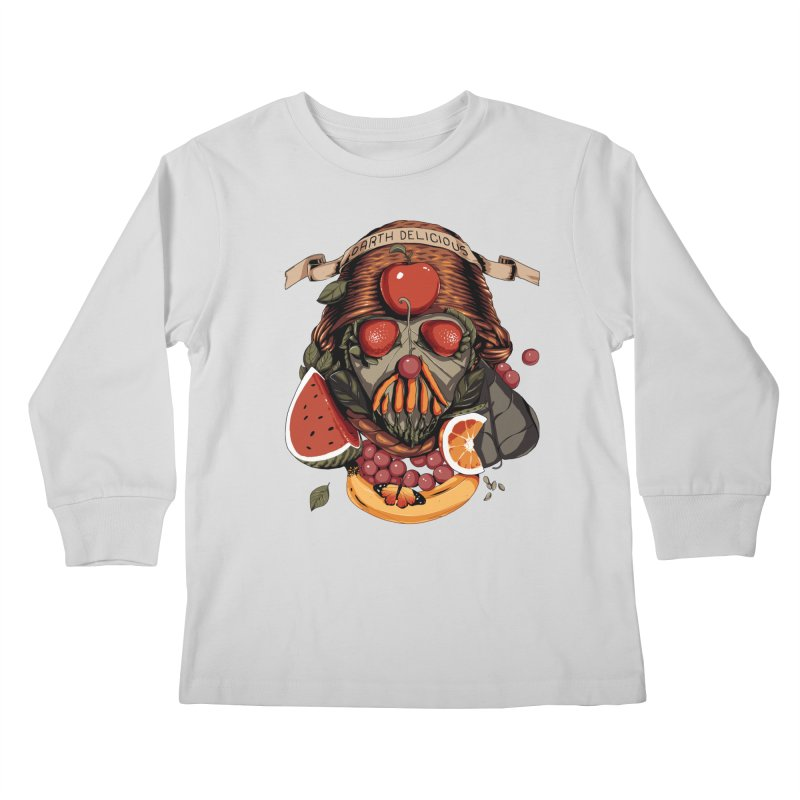 Darth Delicious Kids Longsleeve T-Shirt by metalsan's Artist Shop