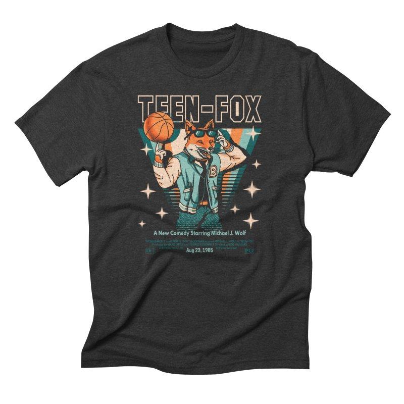 Teen Fox Men's T-Shirt by Santiago Sarquis's Artist Shop