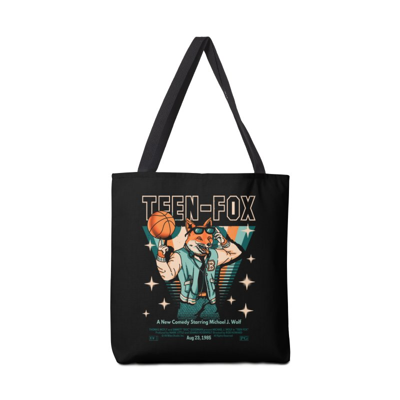 Teen Fox Accessories Bag by metalsan's Artist Shop