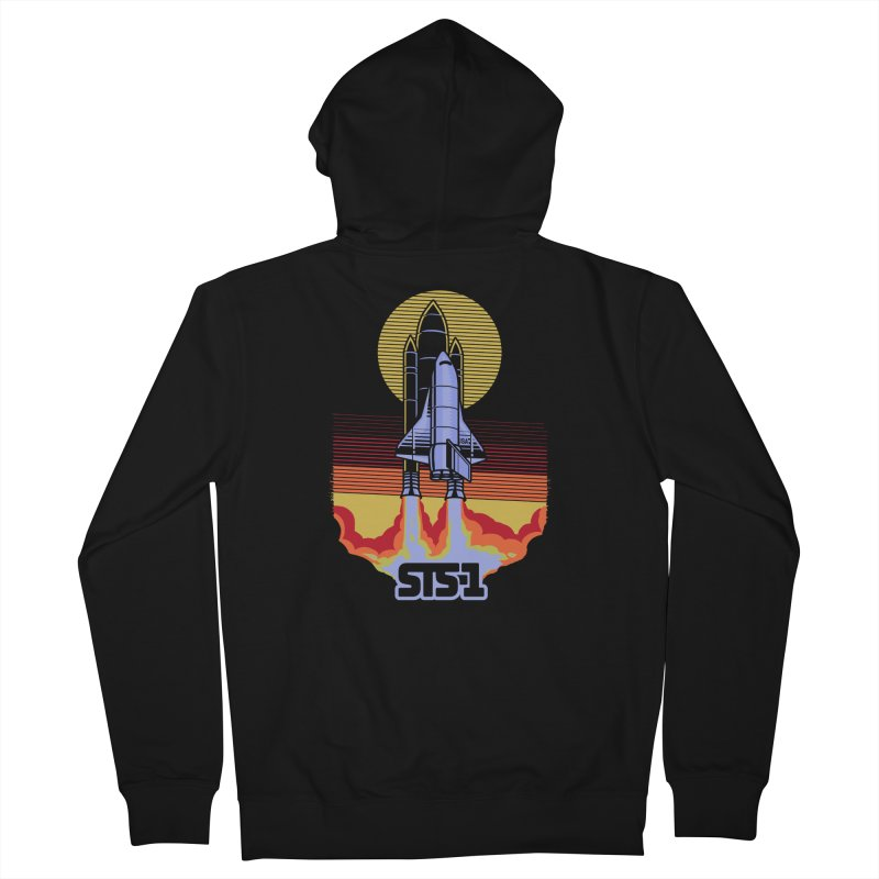 STS-1 Women's Zip-Up Hoody by metalsan's Artist Shop