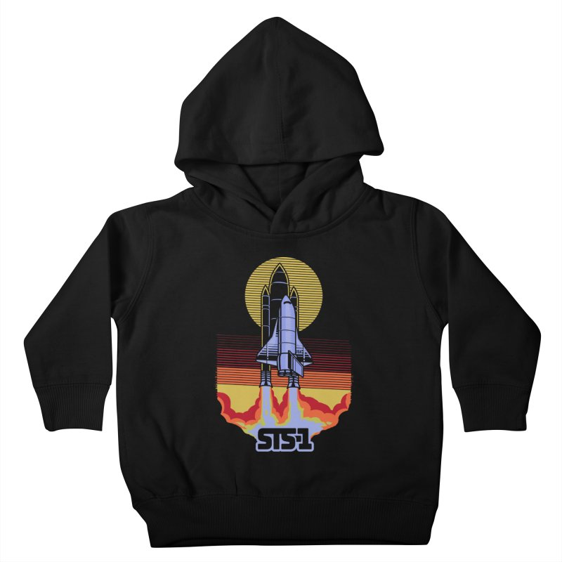 STS-1 Kids Toddler Pullover Hoody by metalsan's Artist Shop