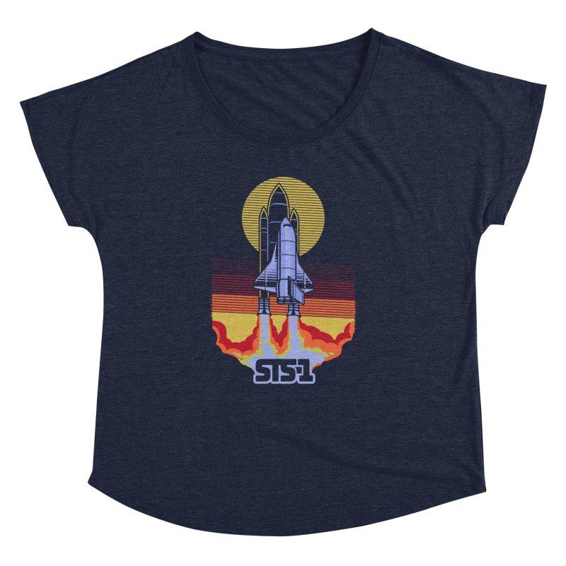 STS-1 Women's Dolman by metalsan's Artist Shop