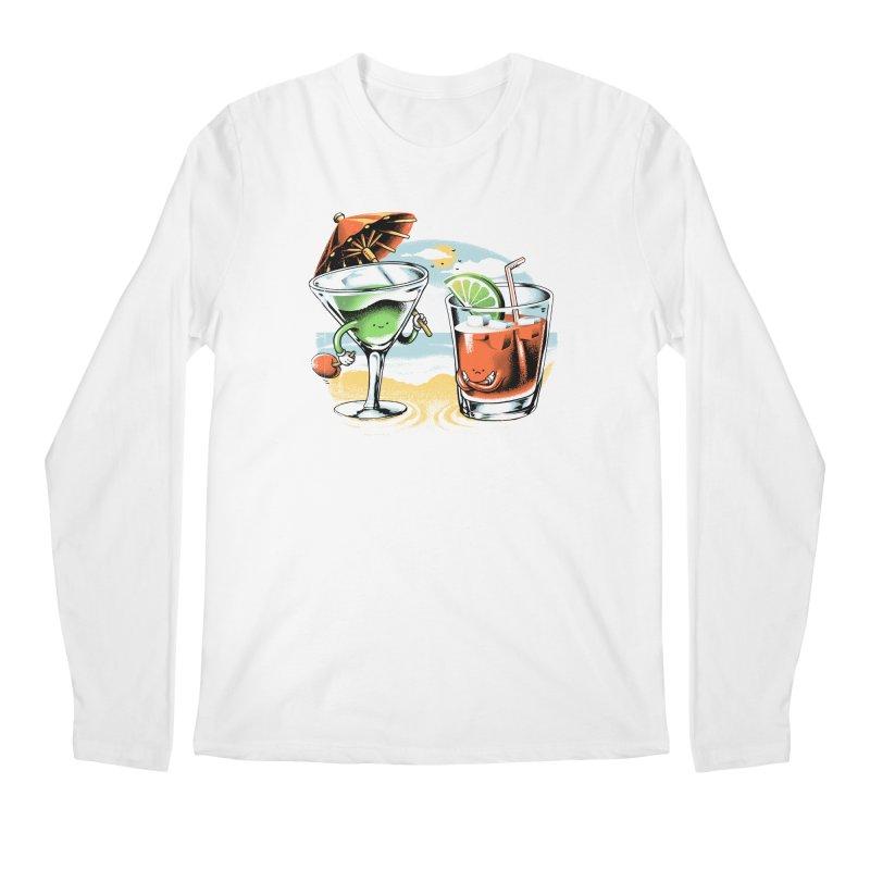 A Day at the Beach Men's Longsleeve T-Shirt by metalsan's Artist Shop