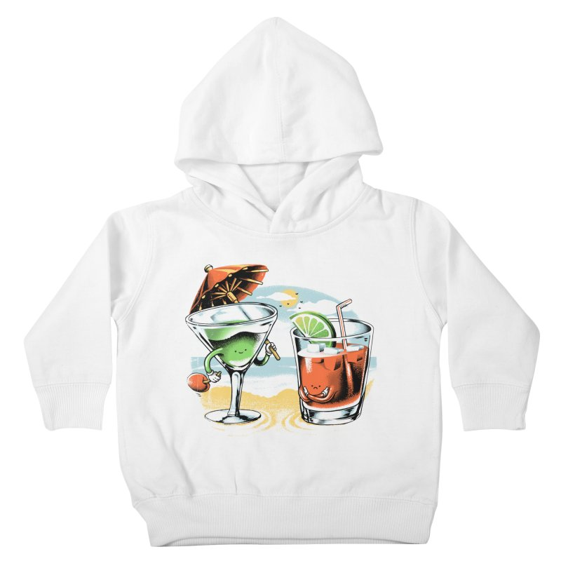 A Day at the Beach Kids Toddler Pullover Hoody by metalsan's Artist Shop