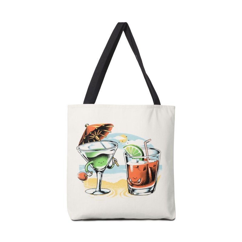 A Day at the Beach Accessories Bag by metalsan's Artist Shop