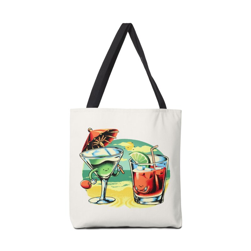 A Day at the Beach Accessories Tote Bag Bag by Santiago Sarquis's Artist Shop