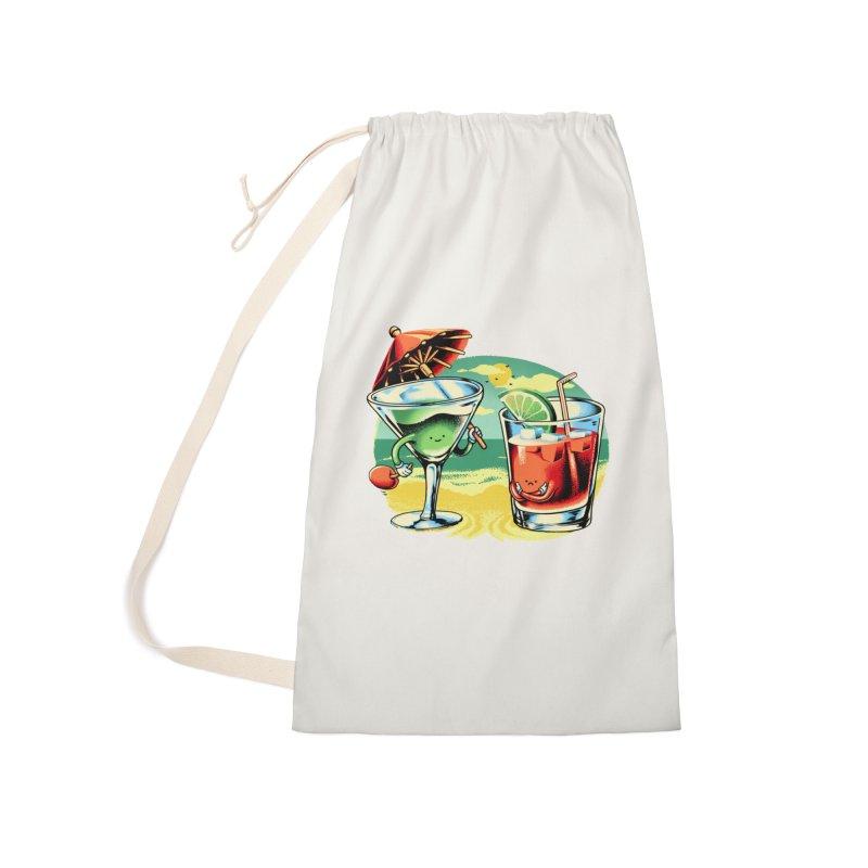 A Day at the Beach Accessories Bag by Santiago Sarquis's Artist Shop