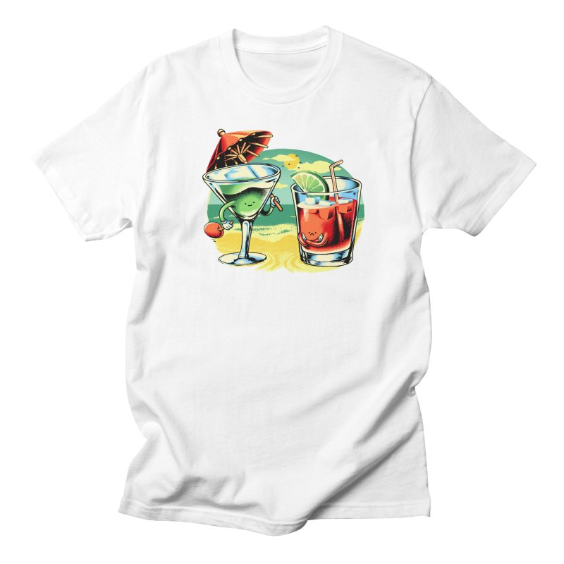 A Day at the Beach Men's T-Shirt by Santiago Sarquis's Artist Shop