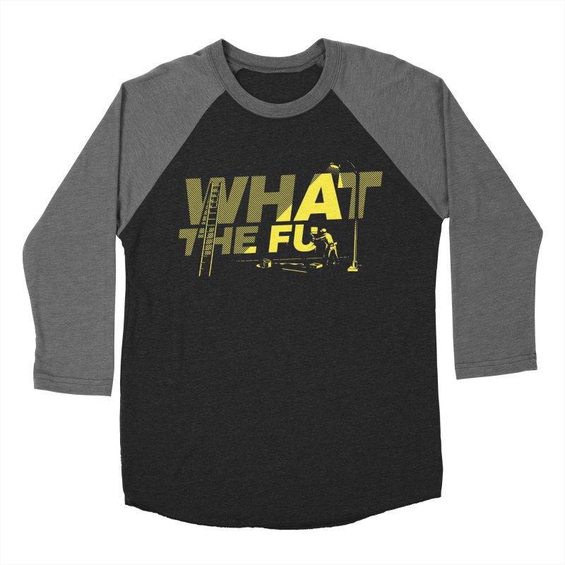 What the Fu Women's Baseball Triblend Longsleeve T-Shirt by Santiago Sarquis's Artist Shop