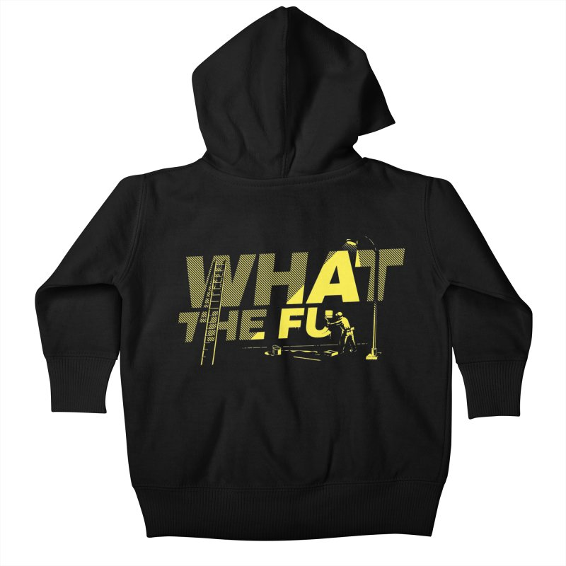 What the Fu Kids Baby Zip-Up Hoody by Santiago Sarquis's Artist Shop